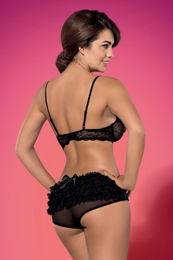 Holly Peers - Obsessive LingeriePink bikini photoshoot
