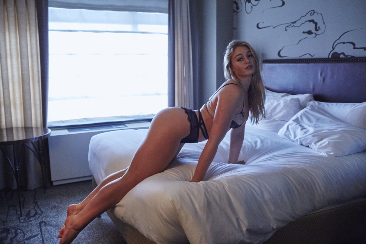 Iskra Lawrence - Hotel Ma Cherie photoshoot - 2015