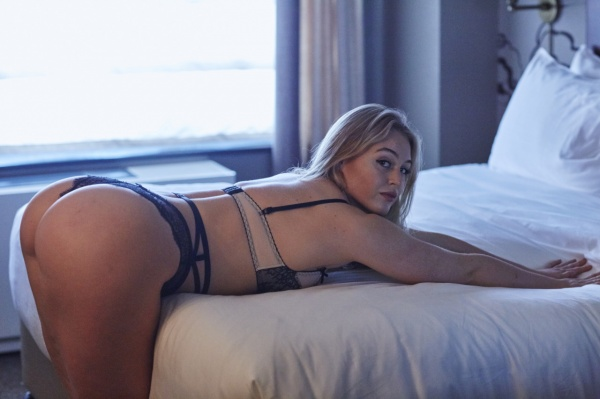 Iskra Lawrence - Hotel Ma Cherie photoshoot