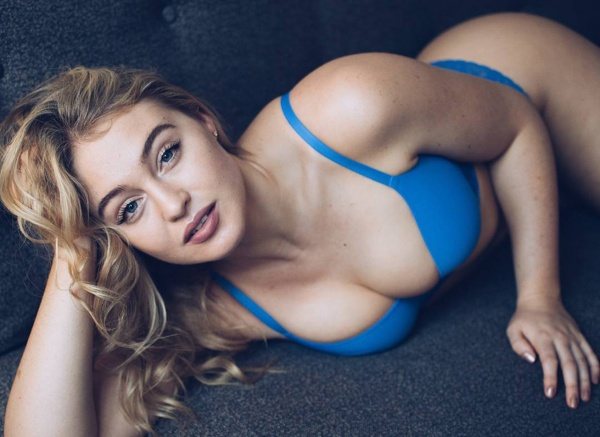 Iskra Lawrence - James Badou photoshoot