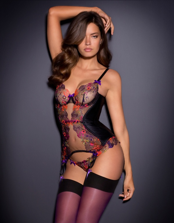 Michea Crawford - Agent Provocateur Lingerie Set 3 (61 фото) ((5