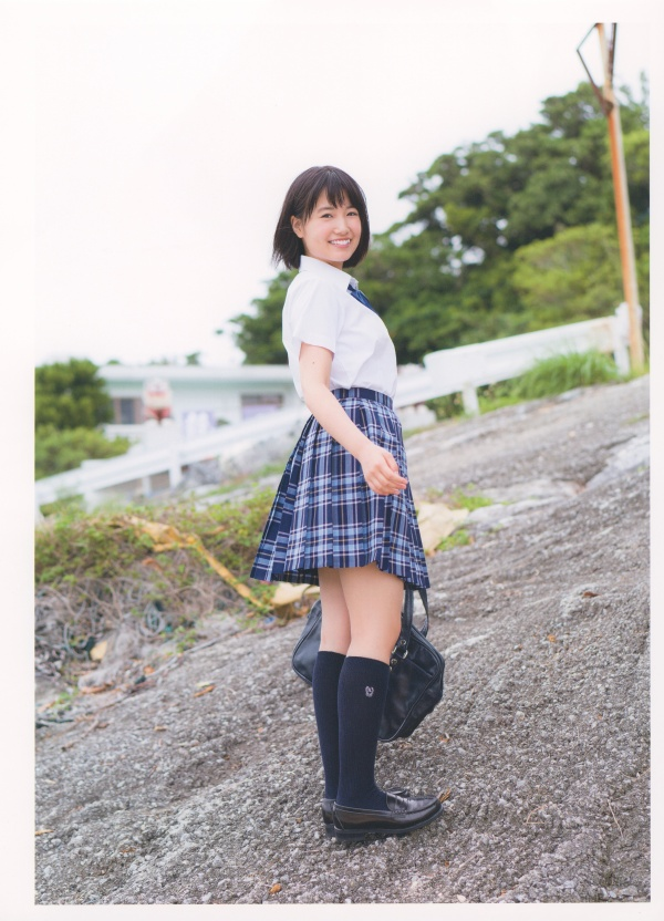 Mio Tomonaga First Photo Album Hinata