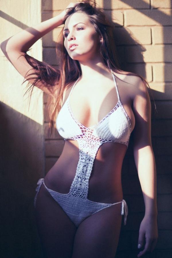 Sabine Jemeljanova for Frank White (13 фото)