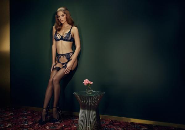 Samantha Gradoville - Agent Provocateur lingerie (14 фото)