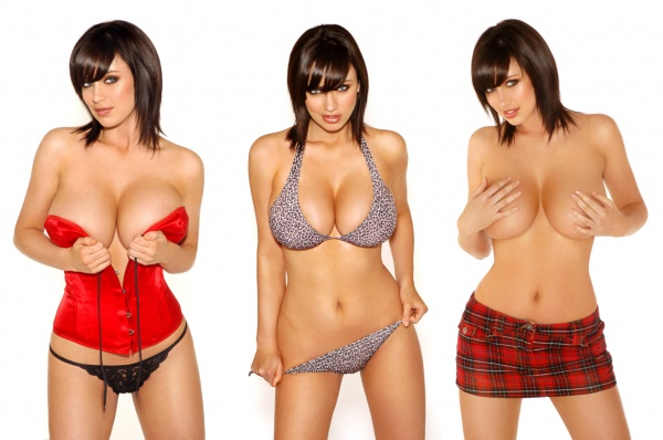 Sophie Howard - Ketchup topless Photoshoot ((5