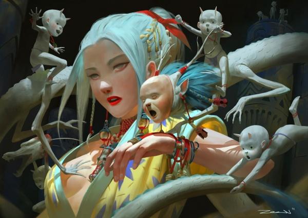 Zeen Chin (50 работ)