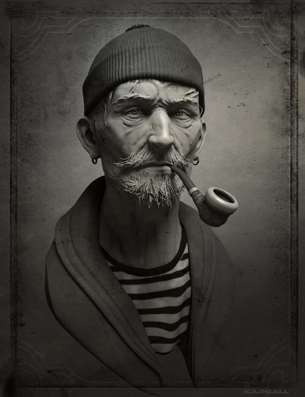 Арт работы Eric Basiletti (44 фото)