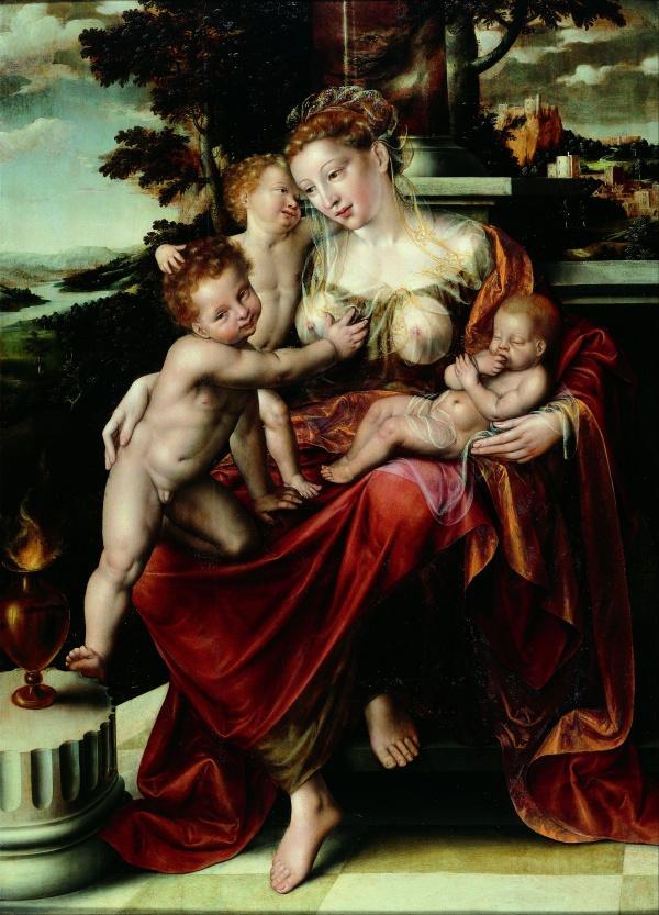 Массейс Ян (1510-1575) (95 работ) ((31