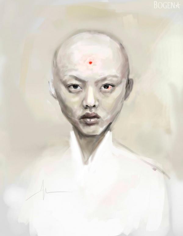 Цифровая живопись 20-летней Божены Доду (29 фото)
