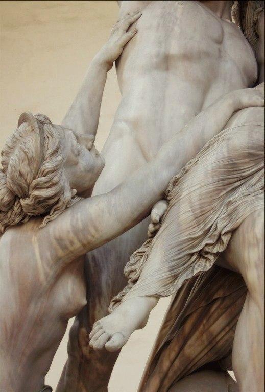 1865. Loggia Dei Lanzi, Florence, Italy by Pio Fedi (6 фото)