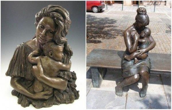 6 волшебных памятников нашим мамам — они это заслужили (6 фото)