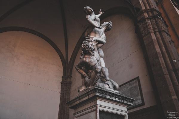 Loggia dei Lanzi, Firenze (9 фото)