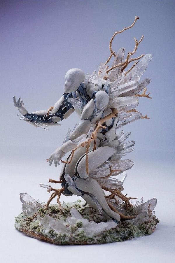 Американский скульптор Garret Kane (8 фото)