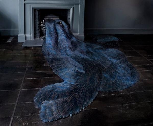 Английская художница Kate MccGwire (10 фото)