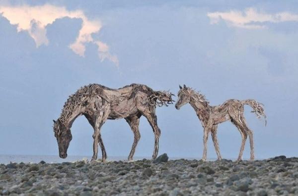Британский скульптор Джеймс Доран-Уэбб (14 фото)