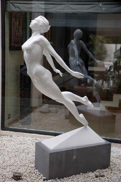 Великолепные работы скульптора Yves Pires (6 фото)
