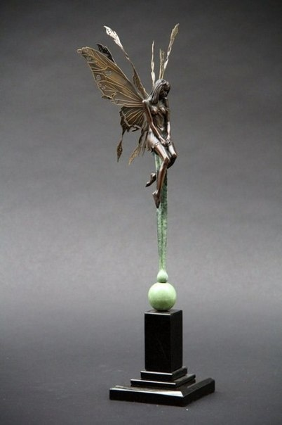 Волшебные скульптуры Michael James Talbot (8 фото)