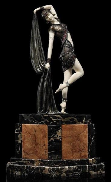 Изящные работы Деметера Чипаруса (1886-1947) - румынского скульптора эпохи ар-деко (7 фото)