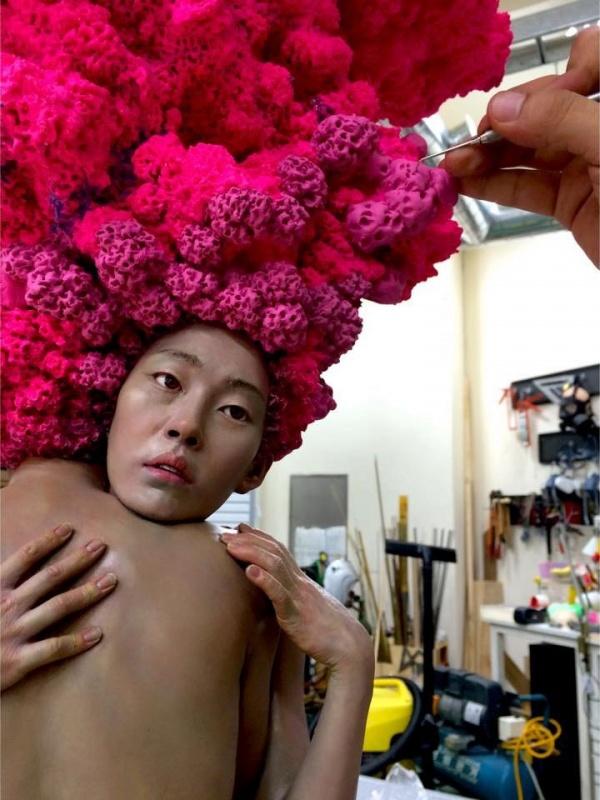 Мечтатели скульптора Xooang Choi (5 фото)