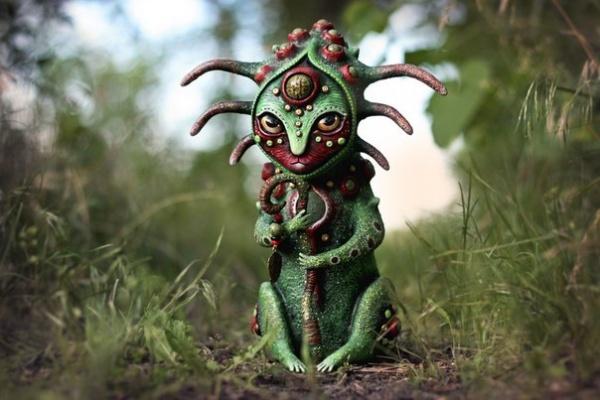 Неземные кукольные скульптуры от Марьяны Копыловой (10 фото)
