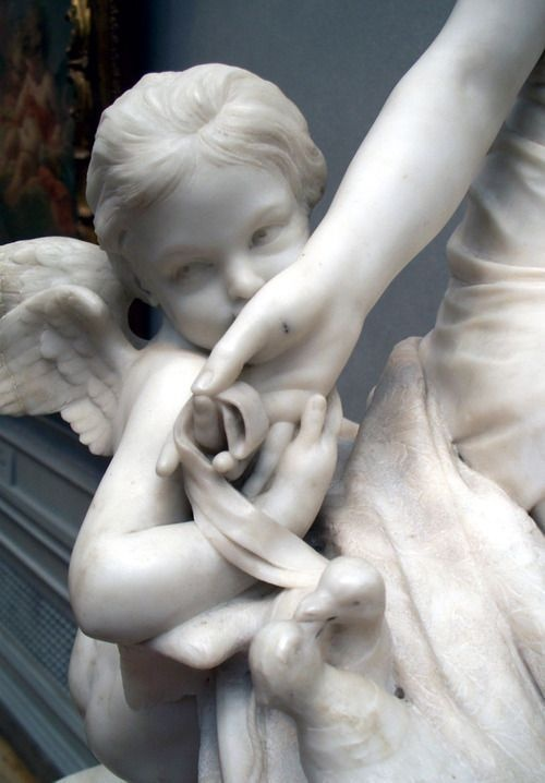 Подборка скульптур Ангелы (6 фото)