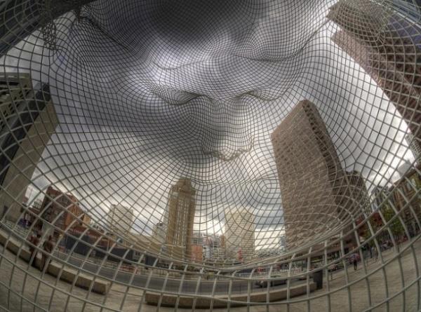 Подборка скульптур, над которыми не властны законы физики (9 фото)