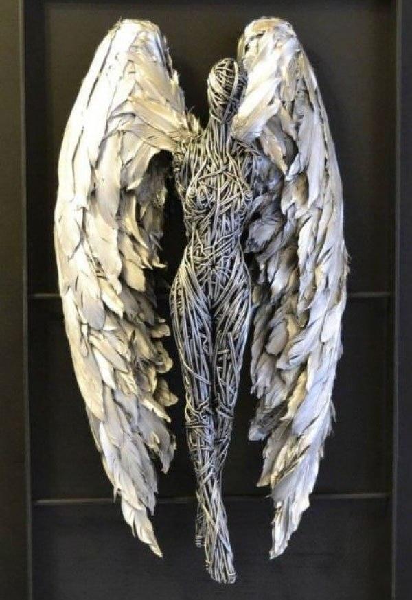 Потрясающие металлические скульптуры от Richard Stainhorp (6 фото)