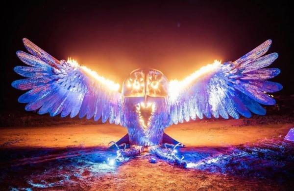 Самые впечатляющие арт-инсталляции фестиваля Burning Man 2016 (10 фото)