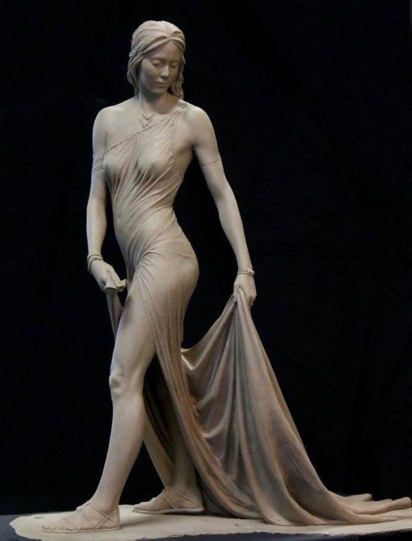 Скульптор Benjamin Victor (2 фото)