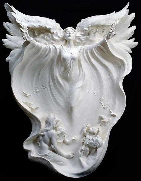 Скульптор Gaylord Но (12 фото)