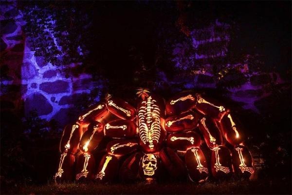 Скульптор Great Jack O Lantern Blaze (10 фото)