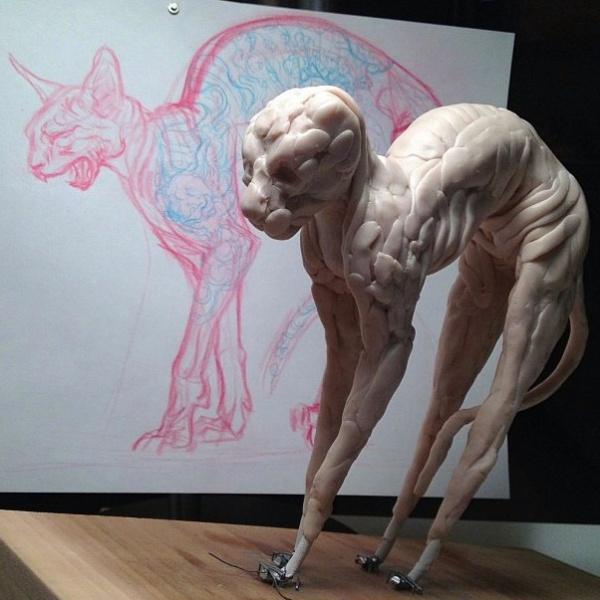Скульптор J.A.W. Cooper (4 фото)