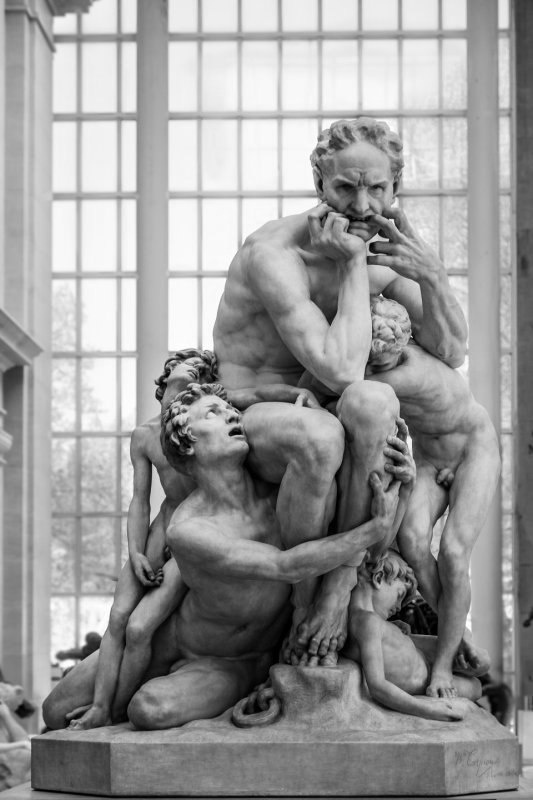 Скульптор Jean-Baptiste Carpeaux (1827-1875). Ugolino and his Sons (6 фото)