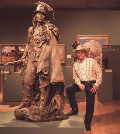 Скульптор John Coleman (10 фото)