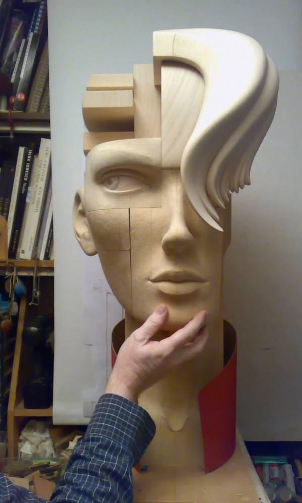 Скульптор John Morris (19 фото)