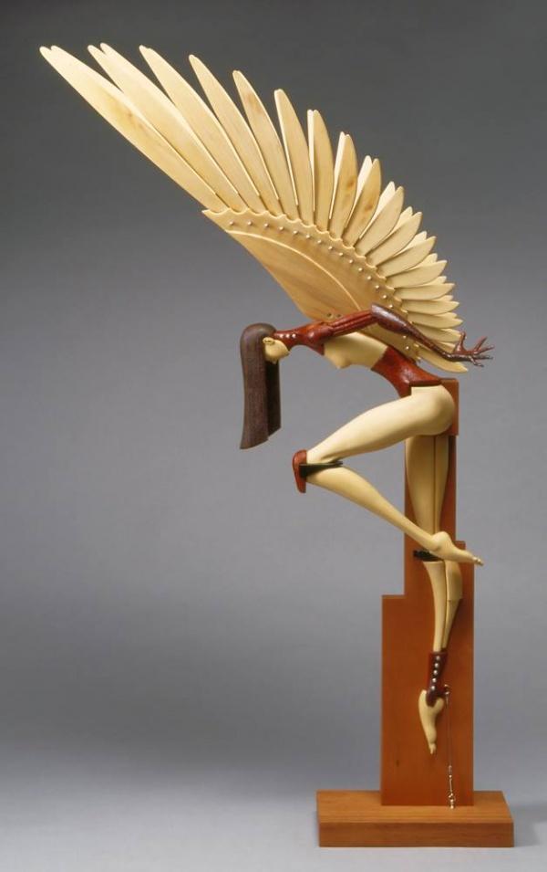 Скульптор John Morris (8 фото)