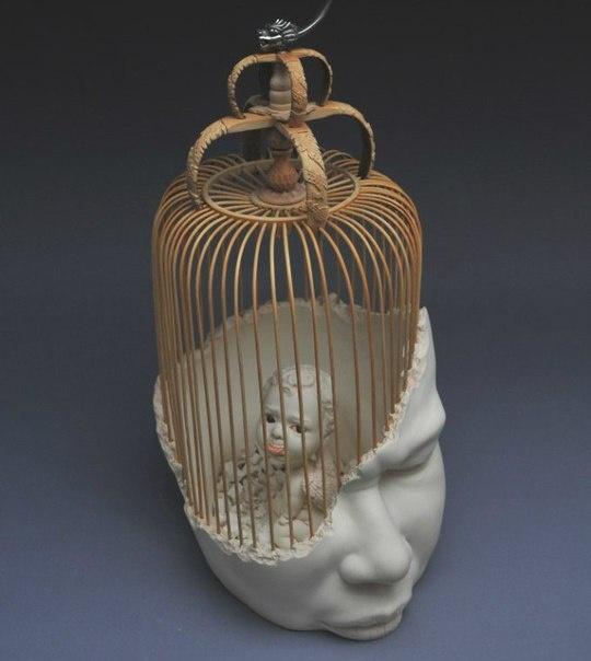 Скульптор Johnson Tsang. Скульптура Во Мне (5 фото)