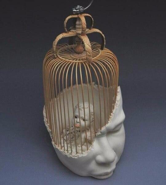 "Скульптор Johnson Tsang. Скульптура ""In Me"" (5 фото)"