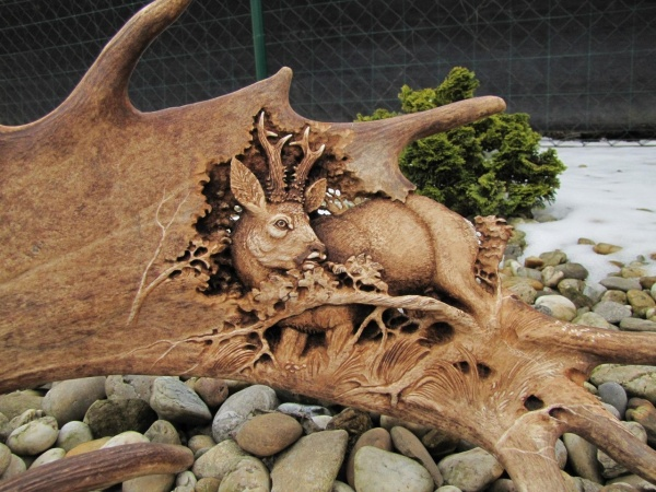 Скульптор Jozef Dihenescik, Словакия (8 фото)