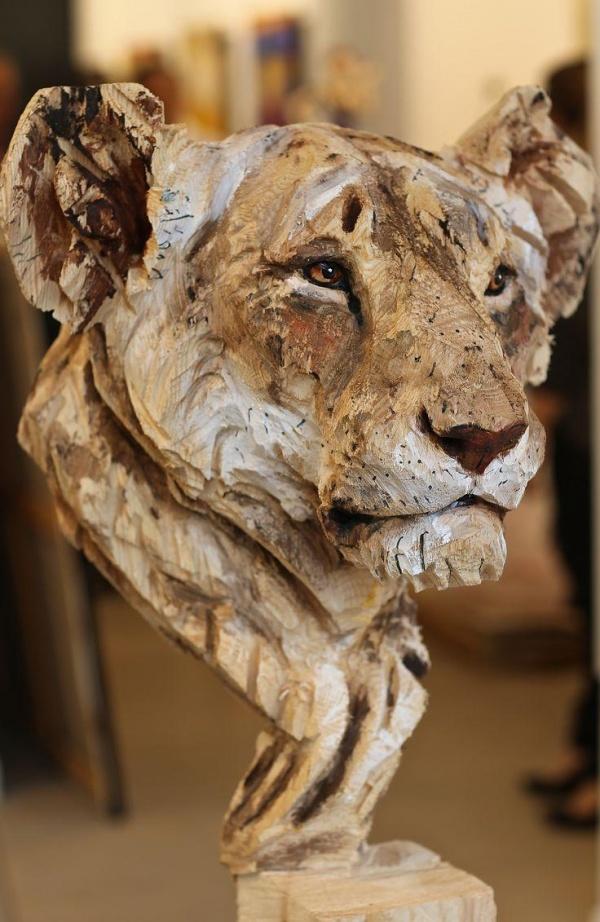 Скульптор Jurgen Lingl Rebetez (9 фото)