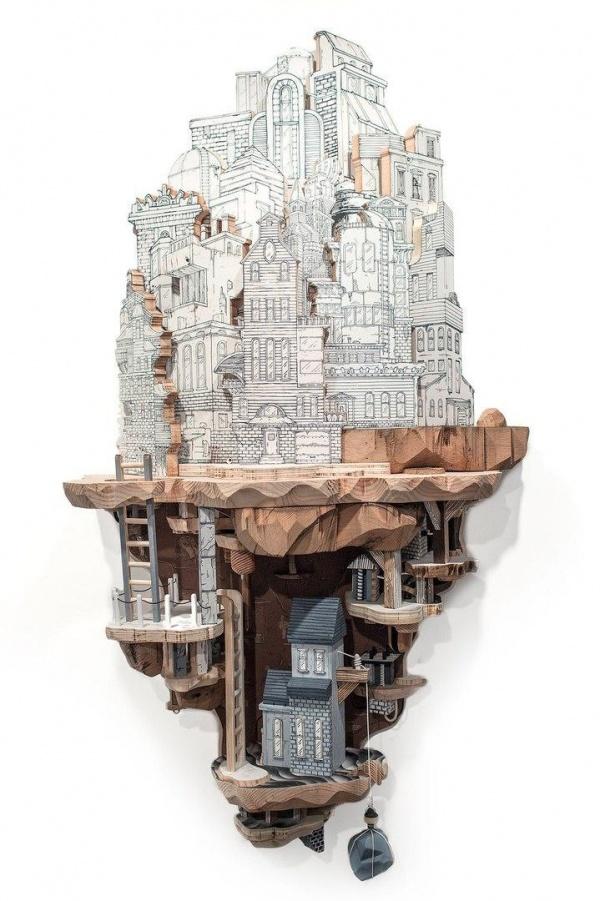 Скульптор Luke O Sullivan (10 фото)