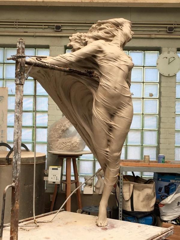 Скульптор Luo Li Rong (20 фото)