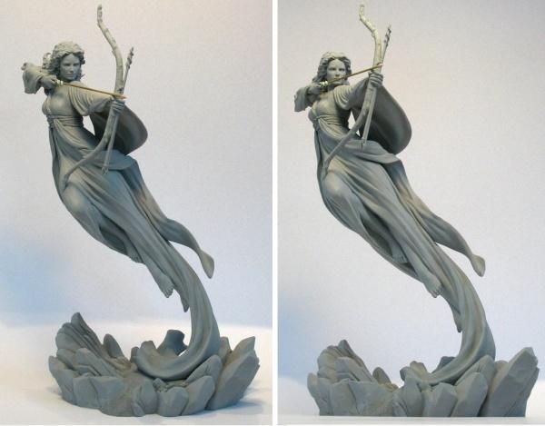 Скульптор Mark Newman (9 фото)