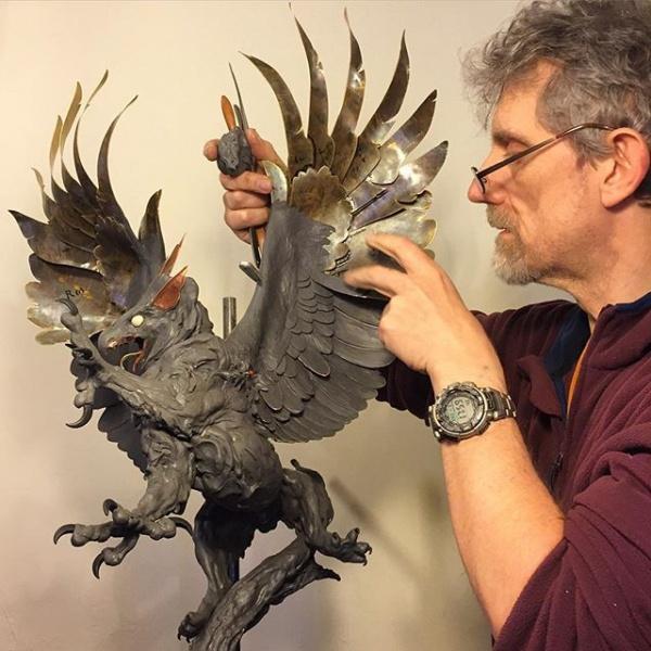 Скульптор Nick Bibby (10 фото)