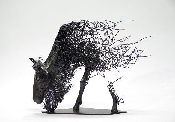 Скульптор Tomohiro Inaba (8 фото)