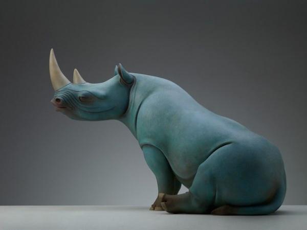 Скульптор Wang Ruilin (10 фото)