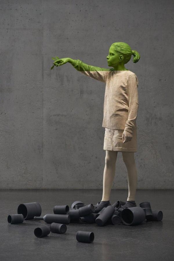 Скульптор Willy Verginer (8 фото)