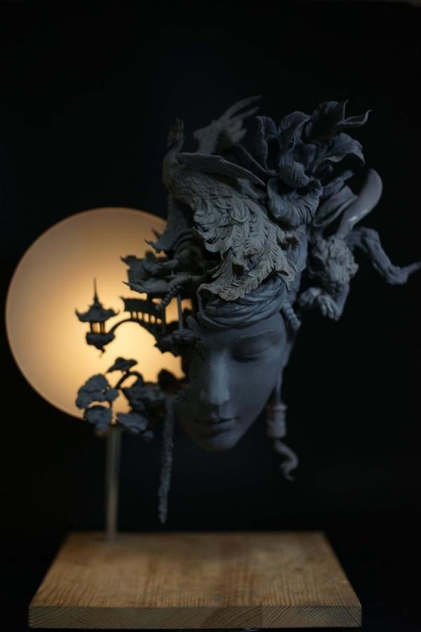 Скульптор Yuanxing Liang (7 фото)