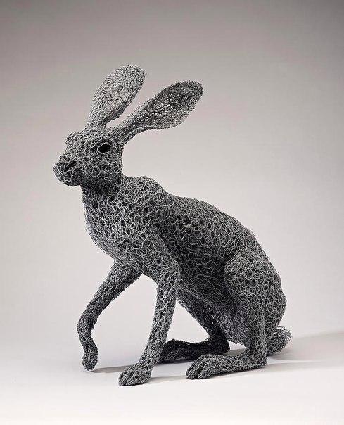 Скульптор из Южной Англии Кендра Хейст (Kendra Haste) (10 фото)