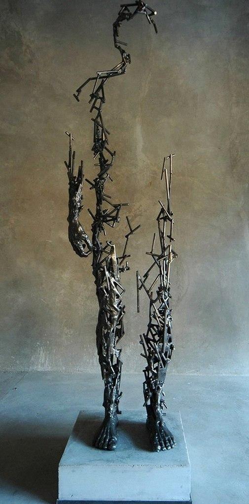 Скульптор из Южной Африки Регар ван дер Мьюлен (10 фото)